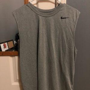 Nike & Under Armour sleeveless workout shirts